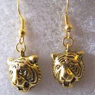 TIGER FANS YOU WILL LOVE THESE TIGER EARRINGS IN GOLD