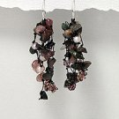 UNUSUAL TOURMALINE EARRINGS IN 925 STERLING!