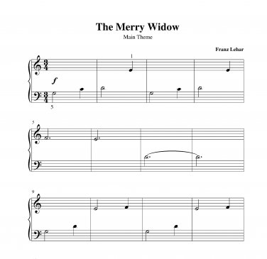 Lehar - The Merry Widow