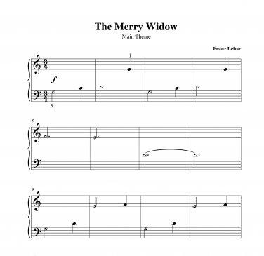 Lehar - The Merry Widow