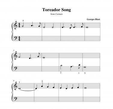 Bizet - Toreador Song