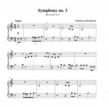 Beethoven - Symphony no. 3 (Eroica)