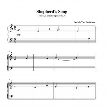 Beethoven - Shepherd's Song