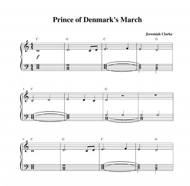 Clarke - Prince of Denmark�s March