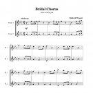 Wagner - Bridal Chorus