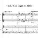 Tchaikovsky - Capriccio Italien Theme