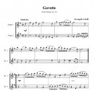 Corelli - Gavotte from Sonata no. 10
