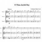 O Thou Joyful Day