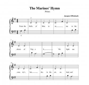 Marines' Hymn, The