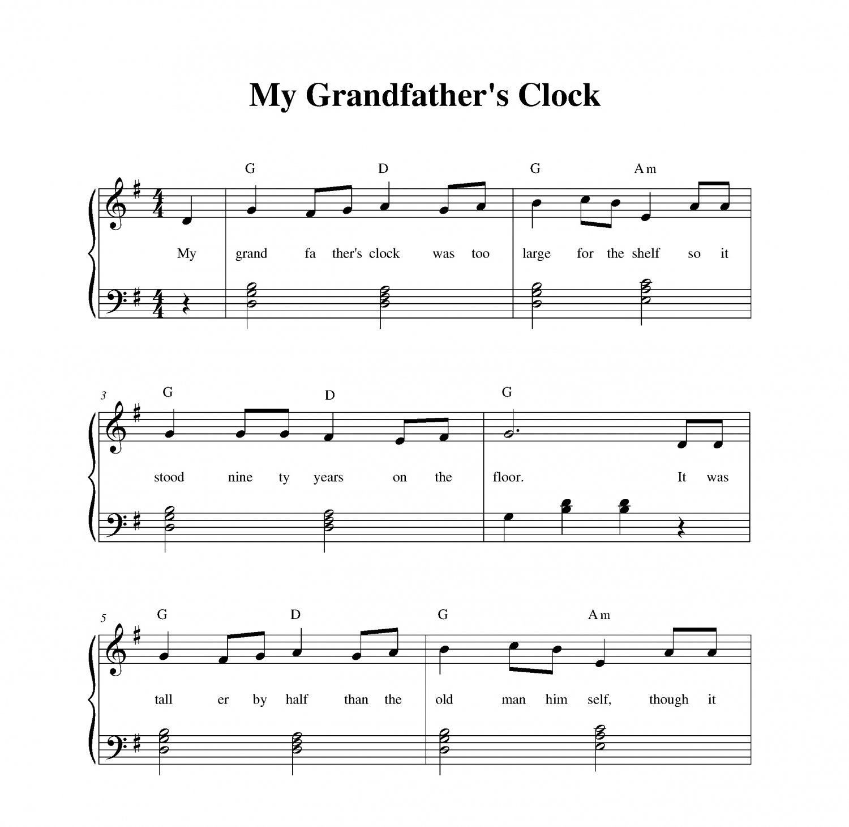 My Grandfather�s Clock