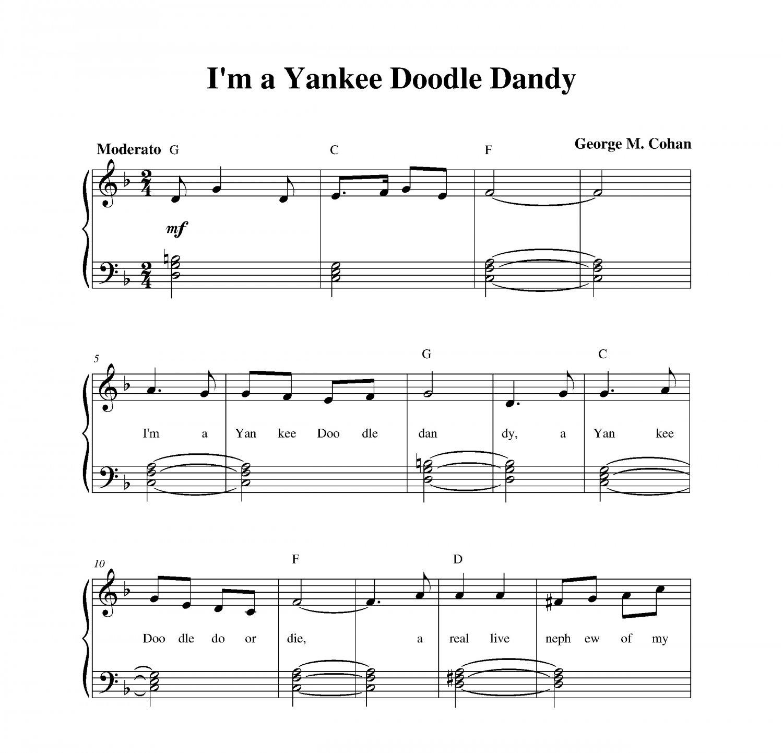 I'm a Yankee Doodle Dandy