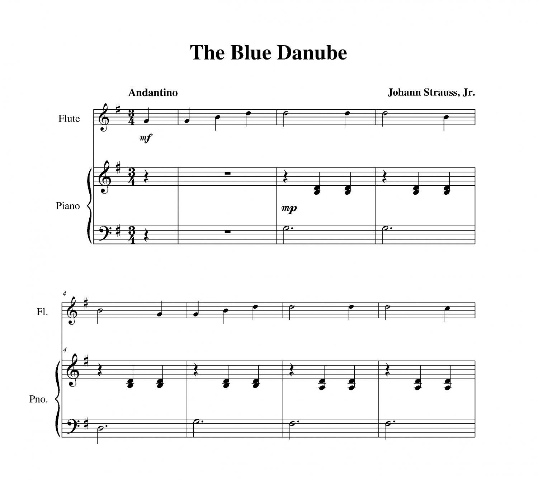 Strauss - The Blue Danube
