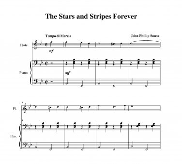 Sousa - The Stars and Stripes Forever