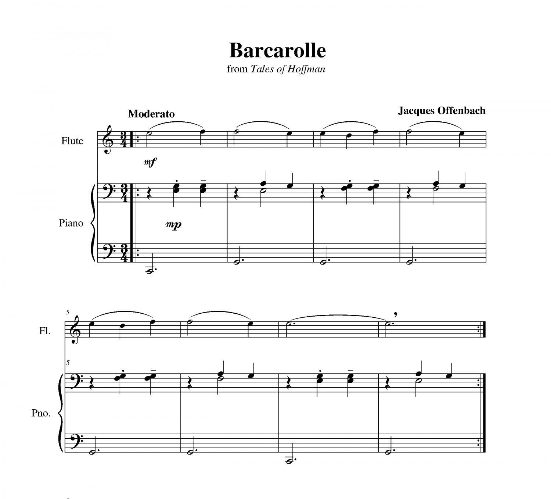 Offenbach - Barcarolle
