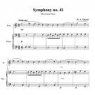 Mozart - Symphony no. 41 (Jupiter)