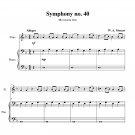 Mozart - Symphony no. 40