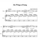 Mendelssohn - On Wings of Song (longer version)
