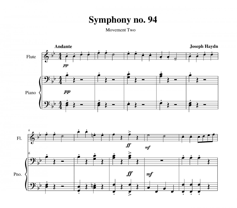 Haydn - Symphony no. 94 (Surprise)