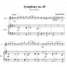 Haydn - Symphony no. 45 (Farewell)