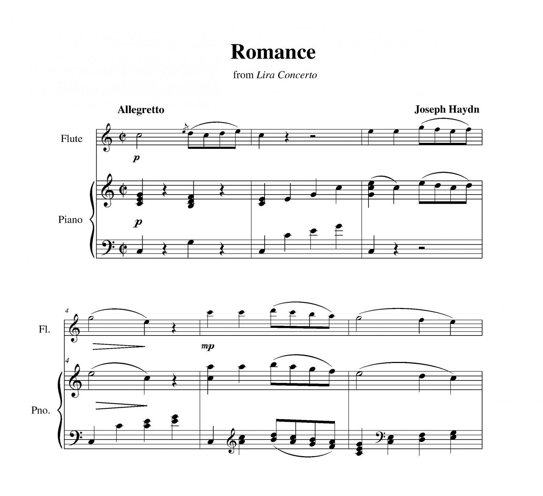 Haydn - Romance