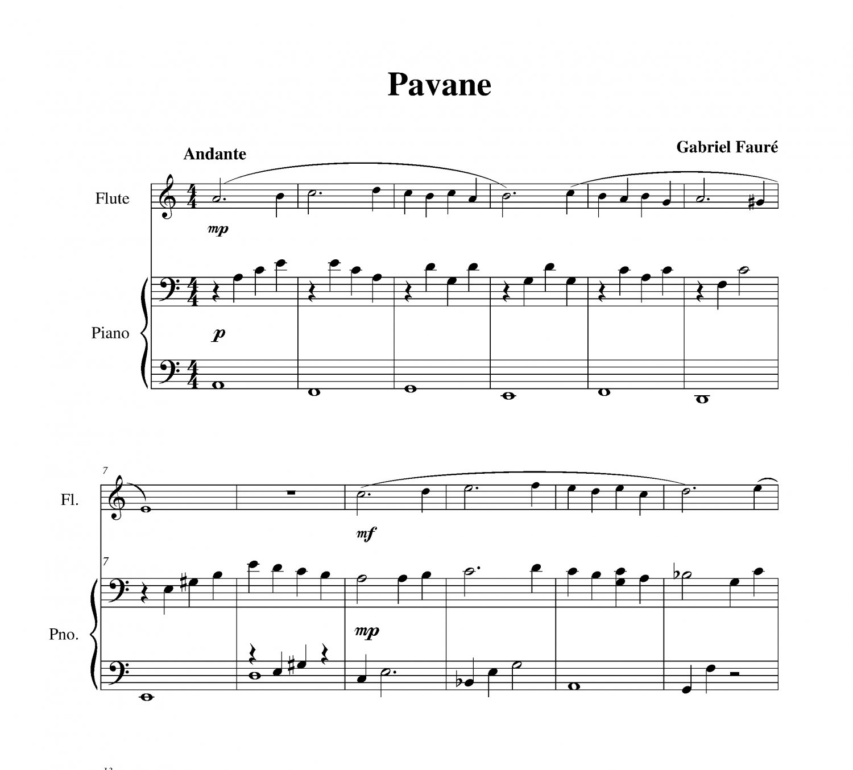 Fauré - Pavane