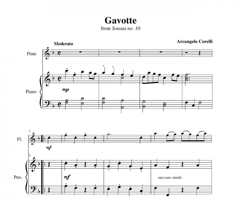 Corelli - Gavotte from Sonata no. 10