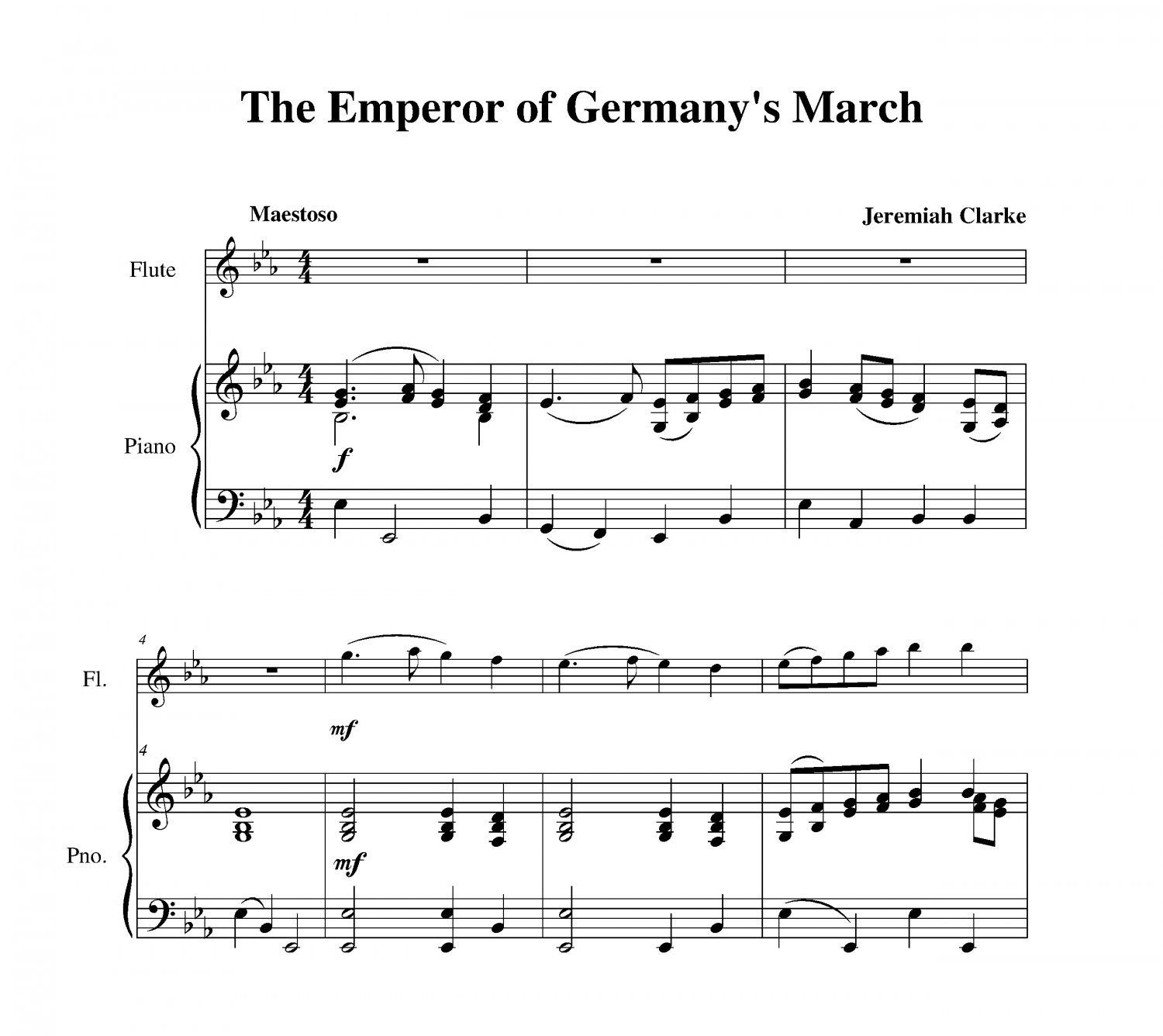 Clarke - The Emperor of Germany�s March