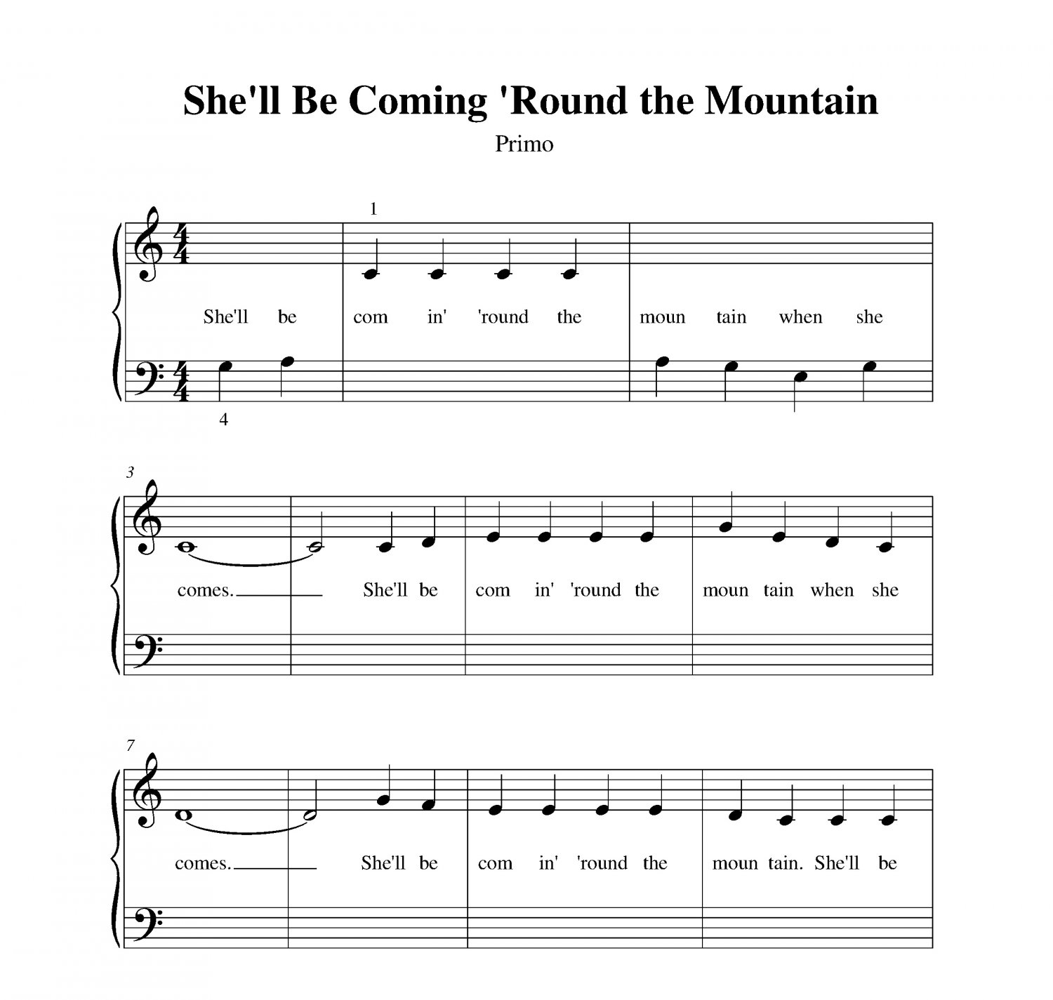 She�ll Be Coming �Round the Mountain
