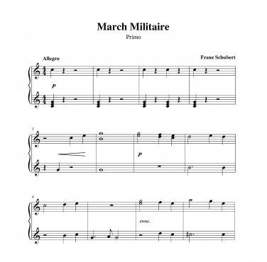 Schubert - March Militaire