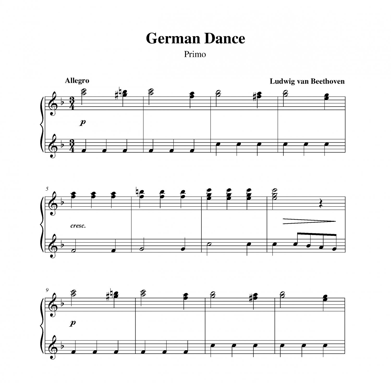 Beethoven - German Dance