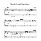 Bach - Brandenburg Concerto no. 3