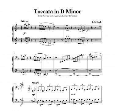 Bach - Toccata in D Minor