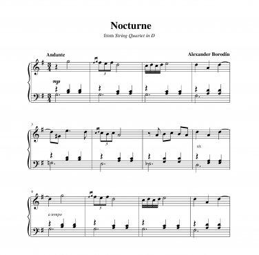 Borodin - Nocturne
