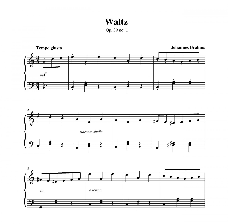 Waltz Op. 39 No. 1