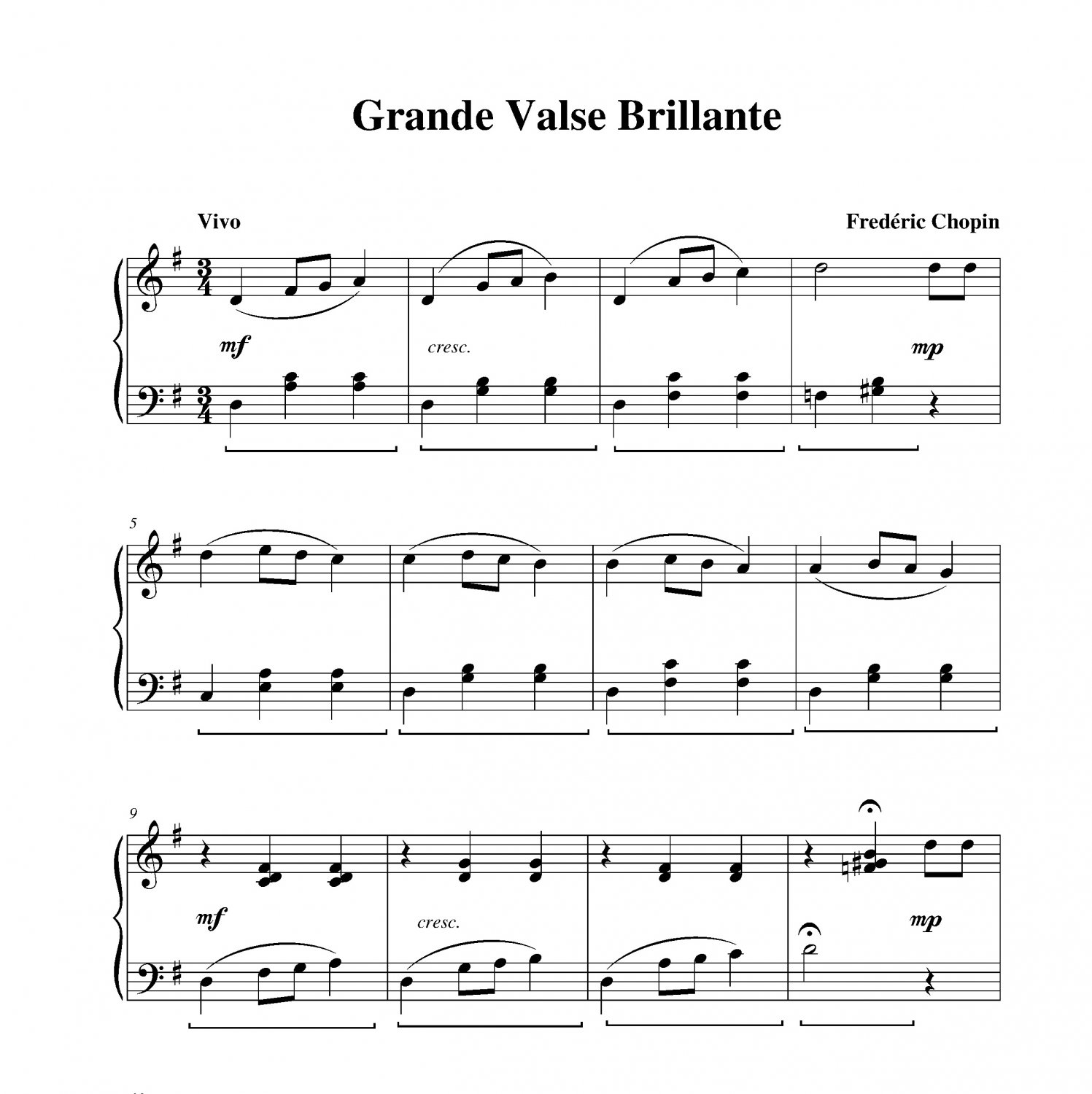 Chopin - Grande Valse Brillante