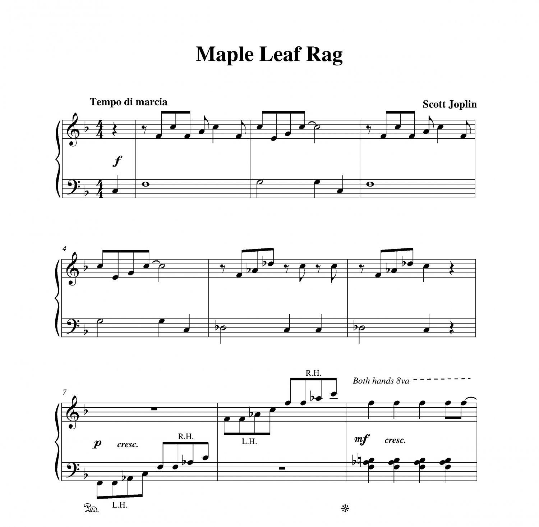Joplin - Maple Leaf Rag