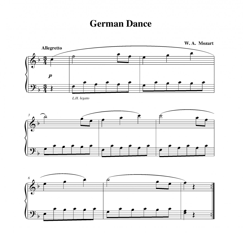 Mozart - German Dance