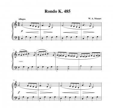 Mozart - Rondo K. 485