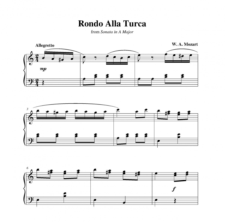 Mozart - Rondo Alla Turca
