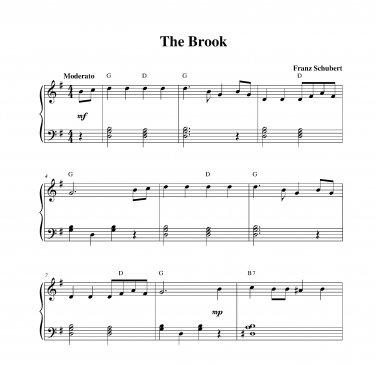 Schubert - The Brook