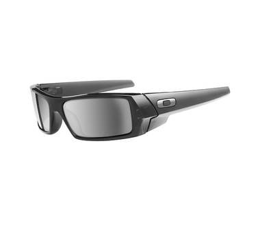 Oakley GASCAN Crystal Black with Black Iridium Lenses 03-481