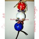 Large 3 Ball Foraging Bird Cage Toy FORAGE GUMP