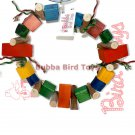 Large Pine Block Foraging Bird Toy LARGE O