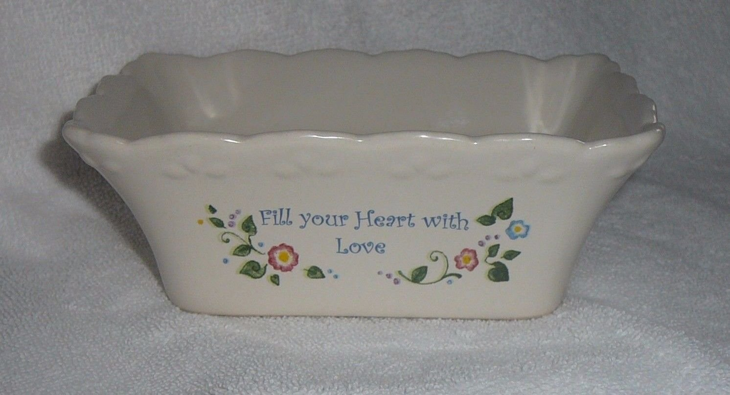 CANDLE HOLDER BOAT SOAP DISH HOME SAYING BY BLYTH HOMESCENTS