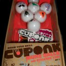Cuponk Ping Pong Ball Action Skill Game More Balls Expansion Set 1 with Stickers MIB