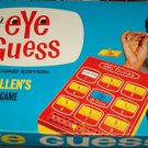 Eye Guess Bill Cullen 2nd Edition TV Board Game Vintage 1966 Milton Bradley