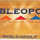 Bibleopoly Board Game Complete 1991 Bible Version Monopoly Late for the Sky
