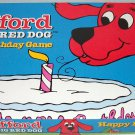 Clifford the Big Red Dog Happy Birthday Board Game 2000 Roseart