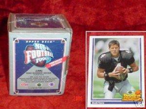 1991 Upper Deck Football High Number Set Brett Favre