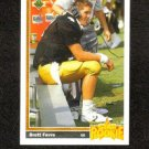 Brett Favre Rookie Upper Deck 1991 #13